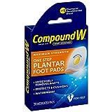 plantar Compound W Maximum Stregth One Step Plantar Foot Pads,20 ea