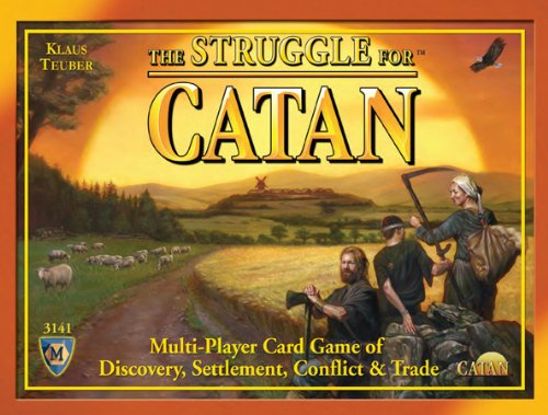 Mayfair Games MFG03141 - Brettspiele, Struggle for Catan