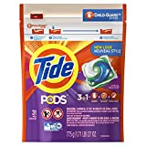Tide PODS 3 in 1 HE Turbo Laundry Detergent Pacs, Spring Meadow Scent, 31 Count Bag