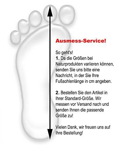 Sonia OriginelliBaby Lammfell Schuhe Stiefelchen Boots Kinder Krabbelschuhe Schaffell B300B (20, Grau) Marine