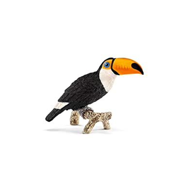 Schleich Wild Life Toucan Educational Figurine for Kids Ages 3-8: Schleich: Toys & Games