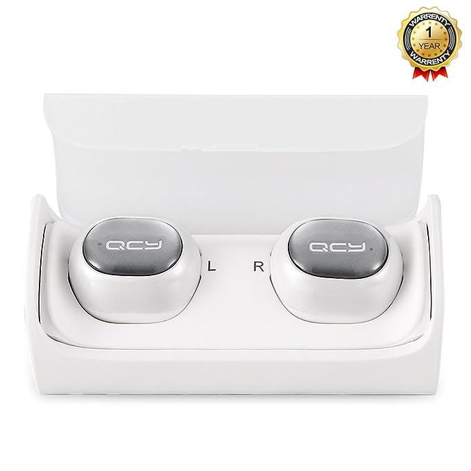 Bluetooth auriculares por zantec, qcy-q29 TWS auriculares Bluetooth, auriculares inalámbricos estéreo de