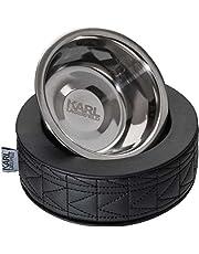 Karl Lagerfeld Haustiere Hundenapf Hund und Katze Futternapf, Farbe: Schwarz, Größe: One Size