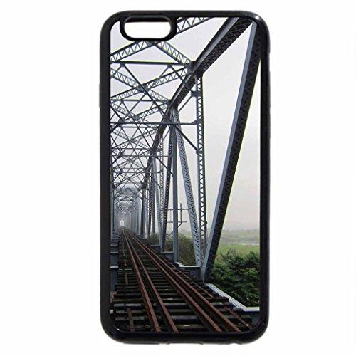 iPhone 6S / iPhone 6 Case (Black) Old Iron Steel Bridge