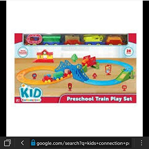 Kids Connection preschool train play set
