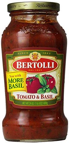 Bertolli Tomato & Basil Sauce, 24 oz