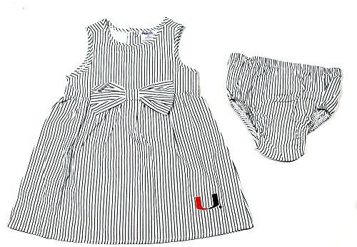 Baby Girls Miami Hurricanes Dress & Bloomers Size 18 Mos. - Toddler Hurricane Sandal