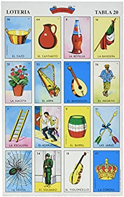 image about Loteria Cards Printable identified as Have on Clemente Autentica Loteria Mexican Bingo Fixed 20 Supplements Vibrant and Useful