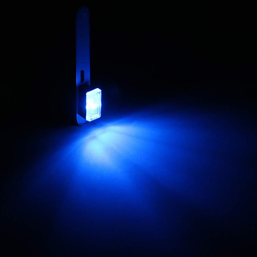 dekorative Lampe bewegliche Notbeleuchtung iTimo Auto-Atmosph/äre-Lichter PC-Computer-Dekor-Licht mit USB-Anschl/üssen