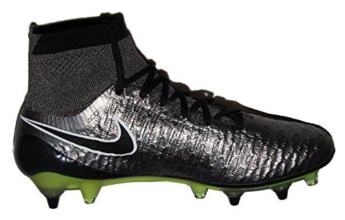 Nike Mens Magista Obra Sg-pro Tacchetti Da Calcio Argento / Grigio / Nero - 7,5 D (m) Us