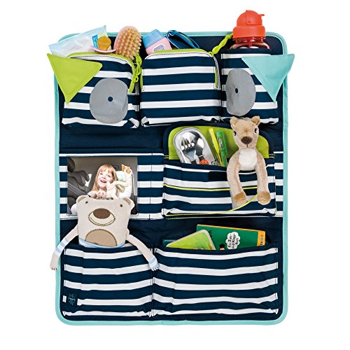 Lassig Kids Car Organizer  Wrap-to-Go Little Monsters Bouncing Bob by Lassig (Image #2)