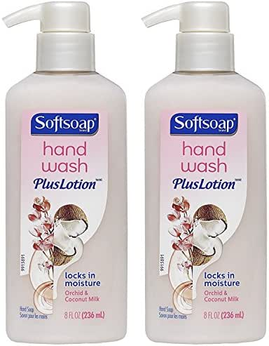 Hand Soap: Softsoap Hand Wash + Lotion