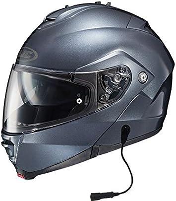 HJC IS-MAX II IS-MAX2 Mine Motorcycle Helmet Red L LG Large Modular SunScreen