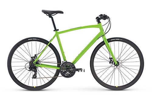 Raleigh Bikes Cadent 2 Fitness Hybrid Bike, Green, 15