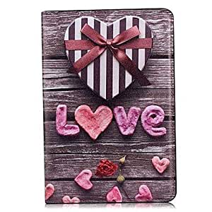 Love Pattern Leather Full Body Case with Stand for iPad Mini 2