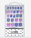 Justice Girls Just Shine Press-on Nails Purple Southwest