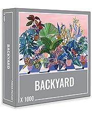 Cloudberries Backyard Puzzle - Coole Legpuzzel met 1000 stukjes voor Volwassenen, met de Ontspannen Vibe van een Achtertuin vol Prachtige Bloemen!