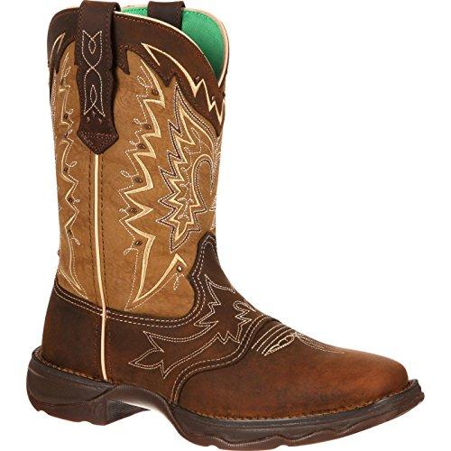 Durango Women's RD4424 Boot,Nicotine/Brown,8.5 M US