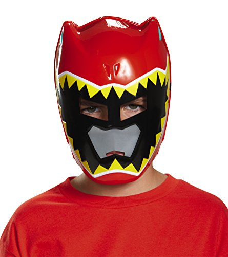 [Disguise Red Ranger Dino Charge Vacuform Mask Costume] (Power Rangers Masks)