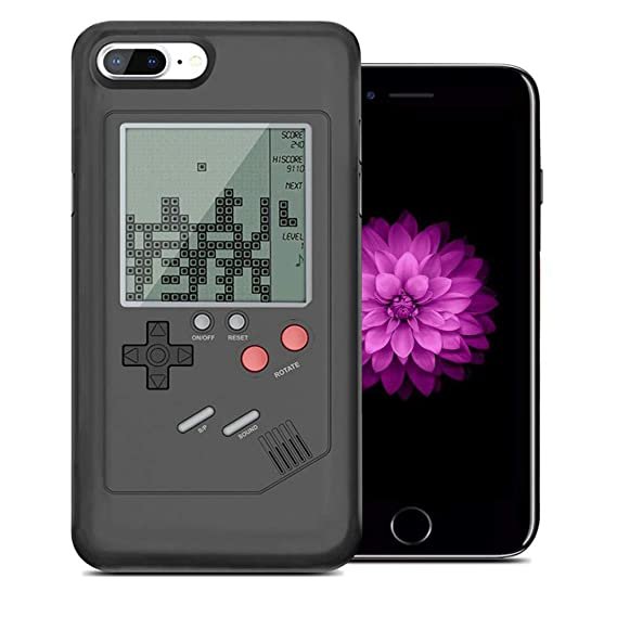 5a213ccc47d Playable Gameboy Case Gameboy iPhone Case for iPhone 6/7 / 8 Plus and  iPhone X/XR/XS MAX, WESION Retro Gameboy Phone Case TPU Gaming Phone Case  ...