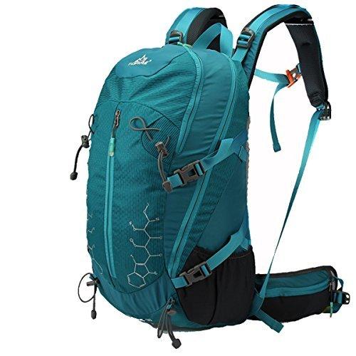 TOFINE Backpack Lightweight Daypack Waterproof for Internal Frame Backpacks Dark Green 30L [並行輸入品]   B077QQQXDJ
