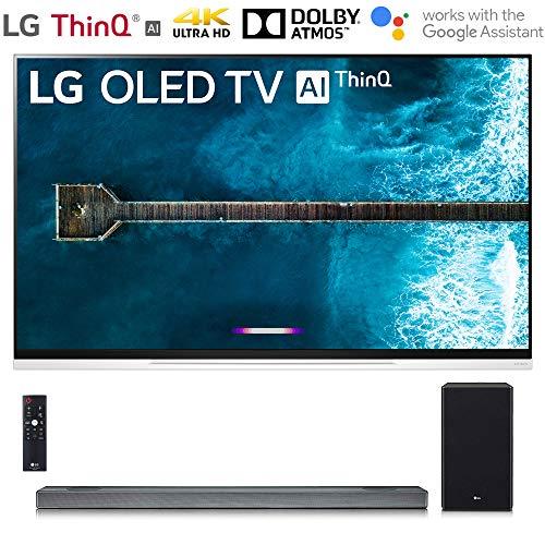 LG OLED55E9PUA E9 Series 55″ 4K Ultra HD Smart OLED TV (2019) with SL9YG 4.1.2 Channel High Res Audio Sound Bar