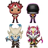 Funko Games: Pop! Fortnite Series 2 Collectors Set - Tricera Ops, Dark Vanguard, Ragnarok, Drift