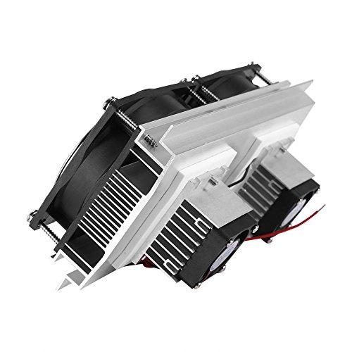 Northbear Thermoelectric Peltier Refrigeration Cooling Cooler Fan System Heatsink Kit Cooler (2 Fan) by Northbear (Image #4)