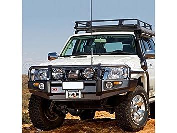 Nissan Patrol Y61 Winch Bumper Deluxe Bar ARB Greggson Off Road