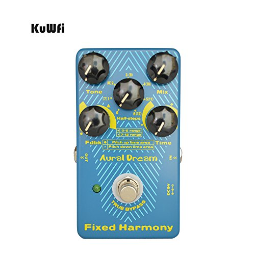 KuWFi Aural Dream Fixed Harmony Digital Effect Pedal For Guitar