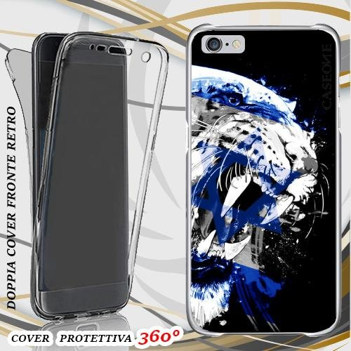 CUSTODIA COVER CASE TIGRE ISRAELE PER IPHONE 6 FRONT BACK