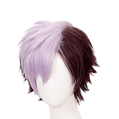 Apehuyuan Toilet-Bound Hanako-kun Cosplay Tsuchigomori Wig Synthetic Hair Anime Merchandise for Fans: Beauty