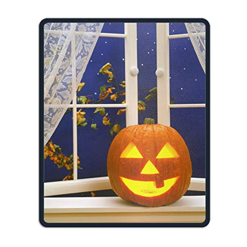 Art Mousepad Natural Rubber Printed with Holiday Halloween