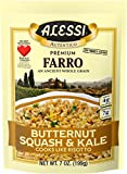 Alessi Butternut Squash and Kale Farro, 7 Ounce - 6 per case.