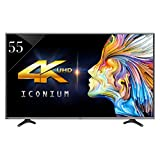 Vu VU55XT780 140 cm (55 inches) 4K Ultra HD LED Smart TV (Black)