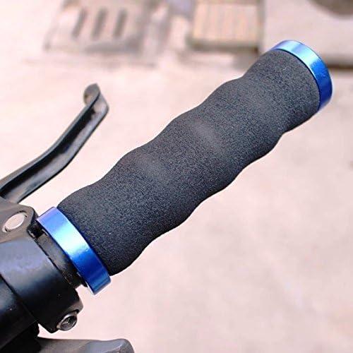 CarbonEnmy Bicicleta Lenkergriffe Sponge Saxon Mano Mango para MTB verdickt Esponja Antideslizante
