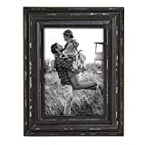Foreside Home & Garden FFRD06233 8X10 Dalton Photo Frame Black