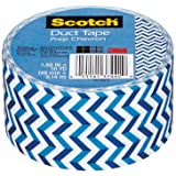 Scotch Duct Tape, Prep Chevron, 1.88-Inch by 10-Yard