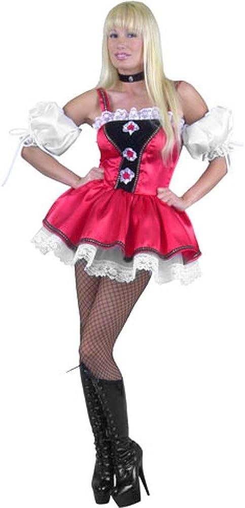 Barvarian Beer Garden Girl Costume (Size: Large 11-13)