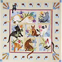 Java House Cat Acatemy Mouse BOM 8 Quilt Pattern Set