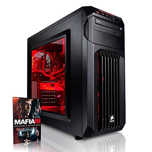 Megaport Gaming PC Intel Core i5 6500 4x 3.20GHz • GeForce GTX1060 6GB • 250GB SSD Samsung 750 Evo • 16GB DDR4 • Windows 10 • 1TB • WLAN gamer pc computer desktop pc high end gaming pc gaming computer