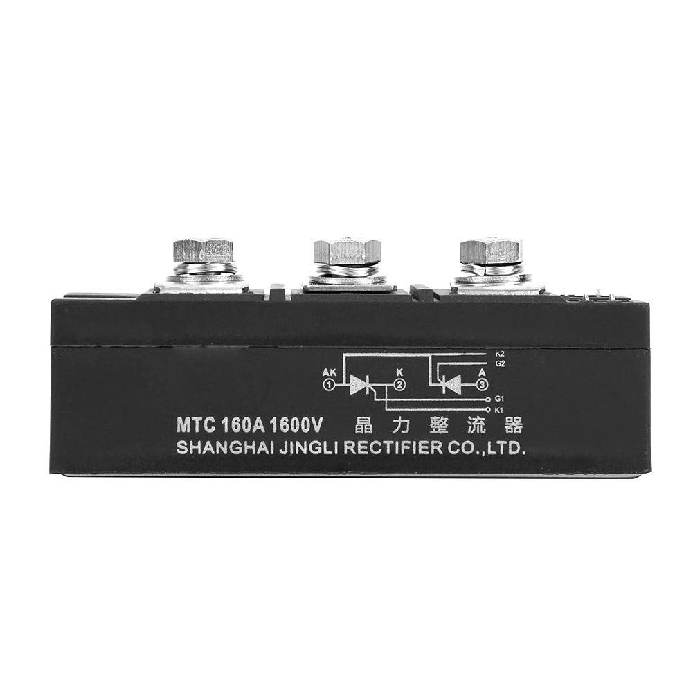Nitrip MTC160A 1600V Two-Way Thyristor Module Silicon Controlled Rectifier Diode Metal Case 3 Pins
