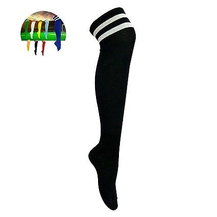 Wyyue Erwachsene Fussball Socken Lange Kniestrumpfe Mit