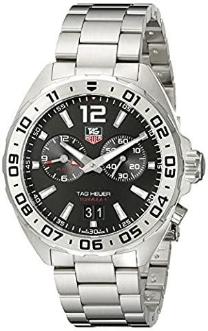 TAG Heuer Men's WAZ111A.BA0875 Formula 1 Stainless Steel Watch (Bezel Tag Heuer)