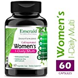 Emerald Laboratories – Women's Multi Vit-A-Min (1-Daily) – Complete Daily with CoEnzymes + Extra Vitamin B6 & Calcium – 60 Vegetable Capsules For Sale
