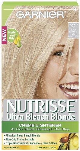 Garnier Nutrisse Hair Color, Ultra Bleach Blond Creme Lightener Do-1 by Garnier