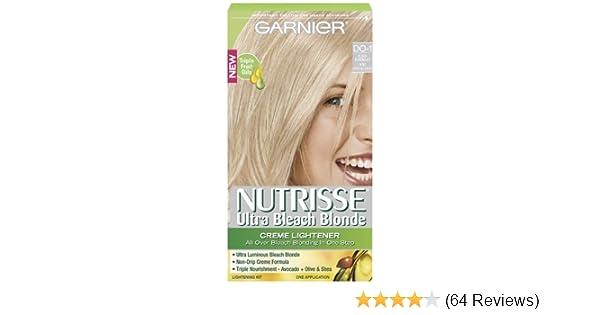 Amazon Com Garnier Nutrisse Hair Color Ultra Bleach Blond Creme