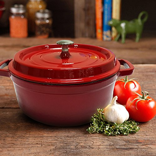 deep cast iron pot - 8