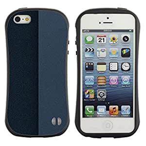Pulsar iFace Series Tpu silicona Carcasa Funda Case para Apple iPhone 5 / iPhone 5S , Simple Pattern 25