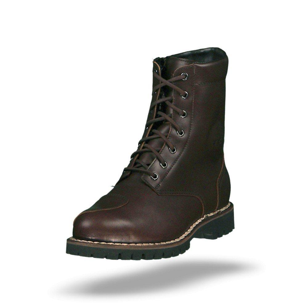 Brown 46 TCX Hero Leather Waterproof Urban Motorbike Motorcycle Boots